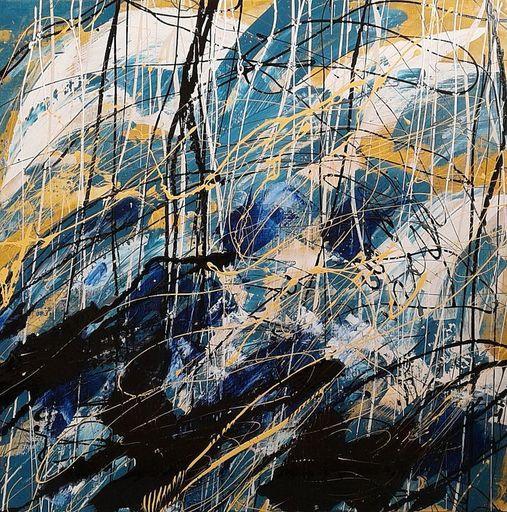 Marie Edmée SEGUIN - Painting - La nuit des temps N°30