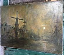 Lucien FRANK - Gemälde