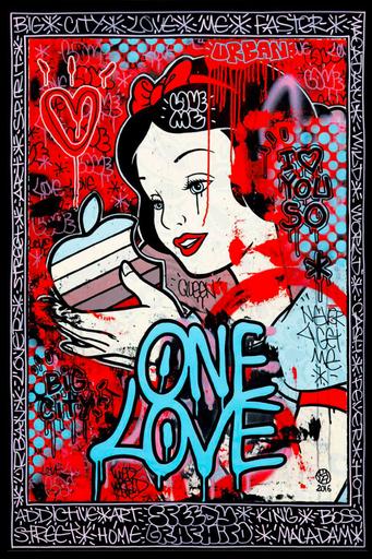 SPEEDY GRAPHITO - Peinture - One love