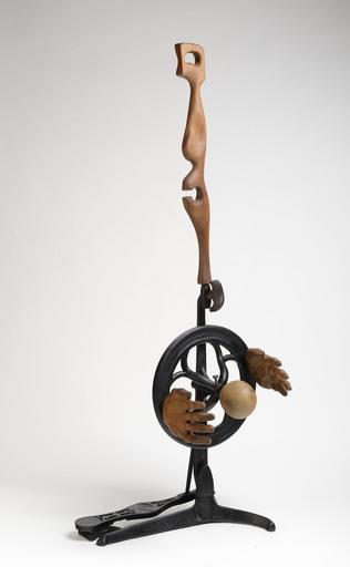 Jiri SEIFERT - Escultura - Spinning Wheel