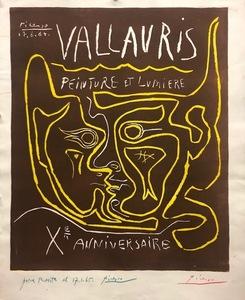 Pablo PICASSO - Print-Multiple - Vallauris. Peinture et lumière X Anniversaire