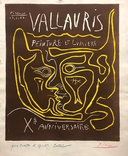 Pablo PICASSO - Druckgrafik-Multiple - Vallauris. Peinture et lumière X Anniversaire