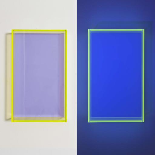 Regine SCHUMANN - 雕塑 - Colormirror pastel violet Milan