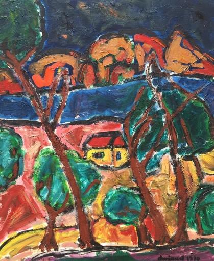 Christian DURIAUD - Pintura - The river