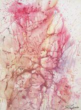 Shozo SHIMAMOTO - Painting - Bottle Crash ID 444