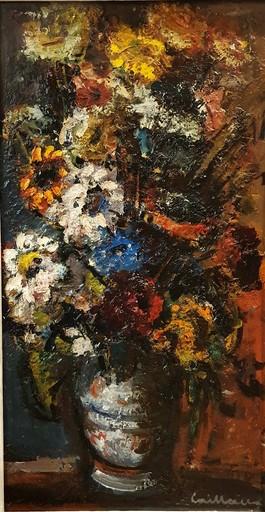 "Rodolphe CAILLAUX - Pintura - ""LE GRAND BOUQUET EXPRESSIONNISTE"""