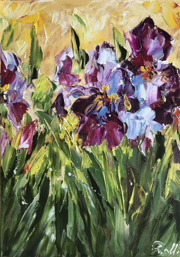 Diana MALIVANI - Gemälde - Iris
