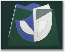 Jean BOQUET - Pintura - Composition