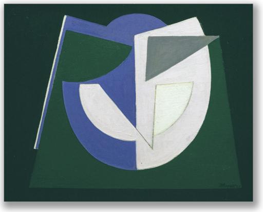 Jean BOQUET - Pittura - Composition