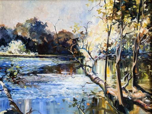 Laurent PARCELIER - Gemälde - Landscape