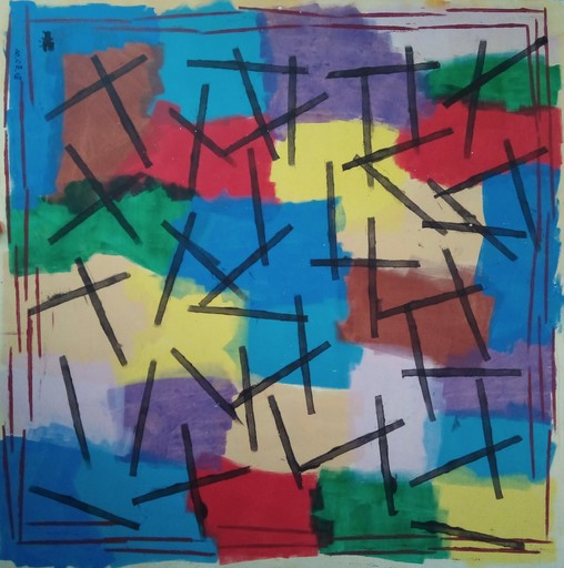 Harry BARTLETT FENNEY - Painting - abstract 2