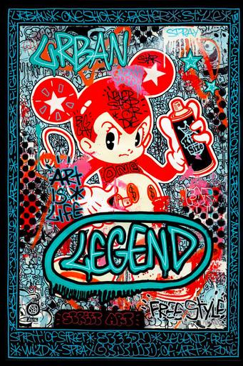 SPEEDY GRAPHITO - Dessin-Aquarelle - Legend
