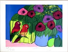TING Walasse - Print-Multiple - Parrots