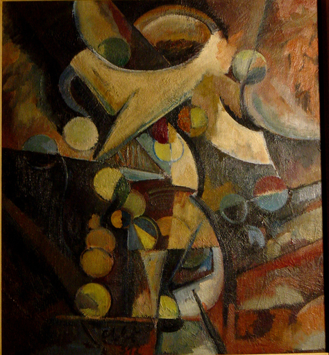 Otto ABT - Gemälde - Composition