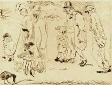 "Jules PASCIN - Print-Multiple - ""Dans la rue"""