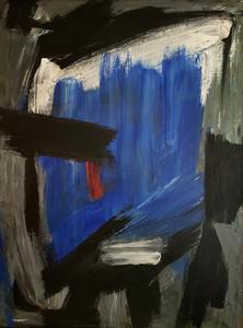 Gérard SCHNEIDER - Peinture - Sans titre / Untitled