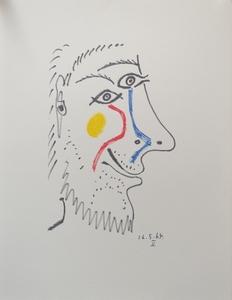 Pablo PICASSO - Stampa-Multiplo - Le Gout de Bonheur 16.5.64 V