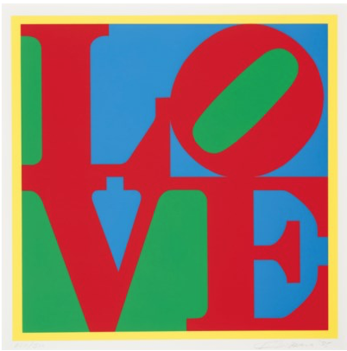 Robert INDIANA - Estampe-Multiple - Heliotherapy