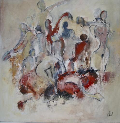 Jacqueline CHOL - Painting - Incandescence