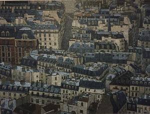 Olivier LAVOREL - Peinture - 1812 - Paris