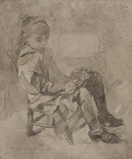 Henri DE TOULOUSE-LAUTREC - Painting - Mademoiselle Béatrix Tapié de Céleyran