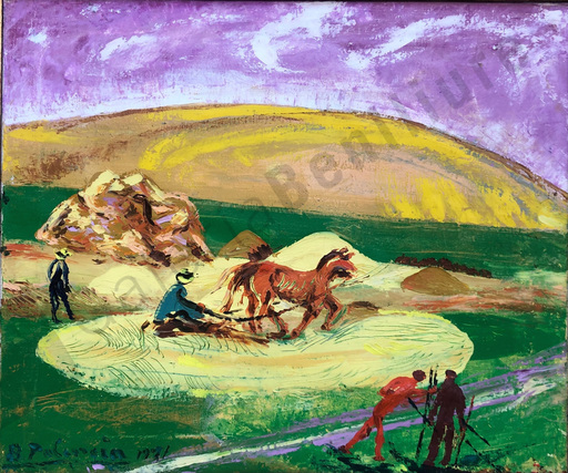Benjamín PALENCIA PEREZ - Pintura - Campesinos