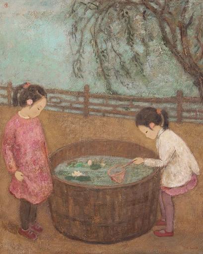 JIA Juanli - Gemälde - les nénuphars