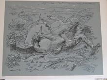 André MASSON - Estampe-Multiple - LITHOGRAPHIE SIGNÉE AU CRAYON NUM/150 HANDSIGNED LITHOGRAPH