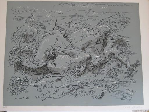 André MASSON - Stampa Multiplo - LITHOGRAPHIE SIGNÉE AU CRAYON NUM/150 HANDSIGNED LITHOGRAPH