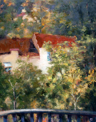 Levan URUSHADZE - Pintura - A cottage for sale