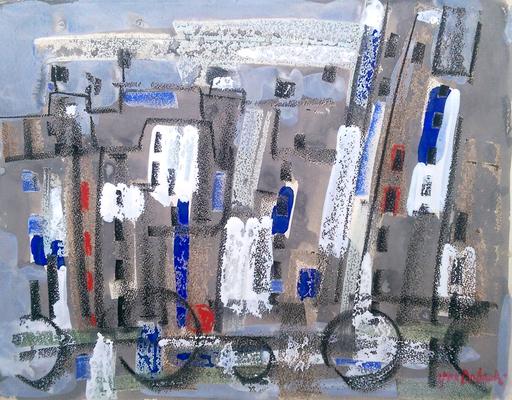 Jun DOBASHI - Drawing-Watercolor - Composition no. 26