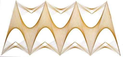 Sumit MEHNDIRATTA - Sculpture-Volume - Nailed it series No.98