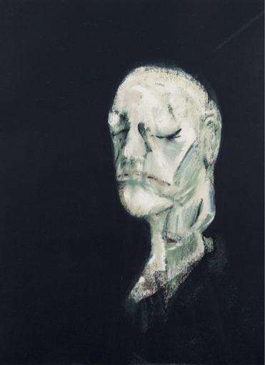 弗朗西斯•培根 - 版画 - Masque Mortuaire de William Blake