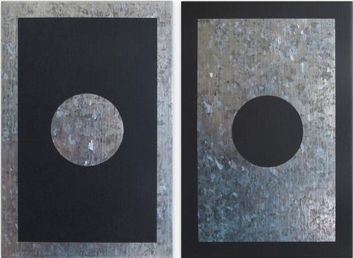 Daniel GÖTTIN - Gemälde - O2A-B, 2018 (Abstract painting)