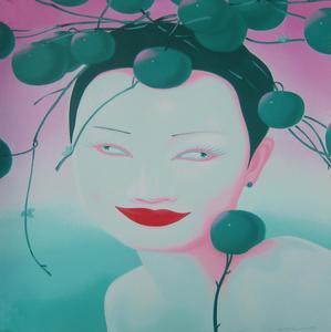 FENG Zhengjie - Estampe-Multiple - Chinese portrait 1