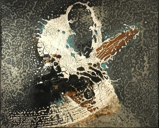 Joan Josep THARRATS Y VIDAL - Painting - Genesi, 1971