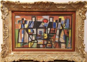 Jean LE MOAL - Painting - Les Deux Cruix