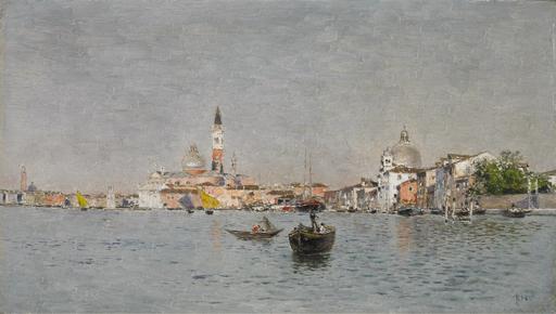 Martín RICO Y ORTEGA - Painting - San Giorgio Maggiore from the Giudecca