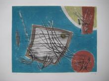 Henri GOETZ - Stampa Multiplo - GRAVURE 1975 SIGNÉE AU CRAYON NUM/50 HANDSIGNED NUMB ETCHING