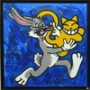 MONSIEUR CHAT - Painting - Bugs Bunny
