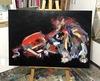 Nicole LEIDENFROST - Gemälde - Löwe abstrakt