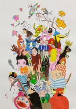 Laurina PAPERINA - Pintura - Spamming (Contemporary Art II)