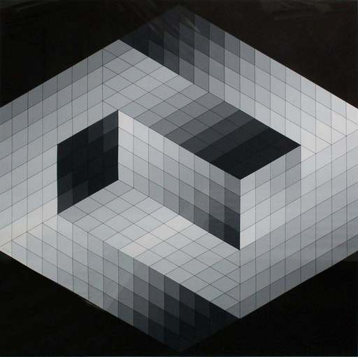 Victor VASARELY - Print-Multiple - Gestalt 8