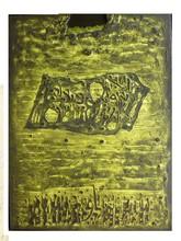 Moshé Elazar CASTEL - Pintura - Manuscrit de Neguev