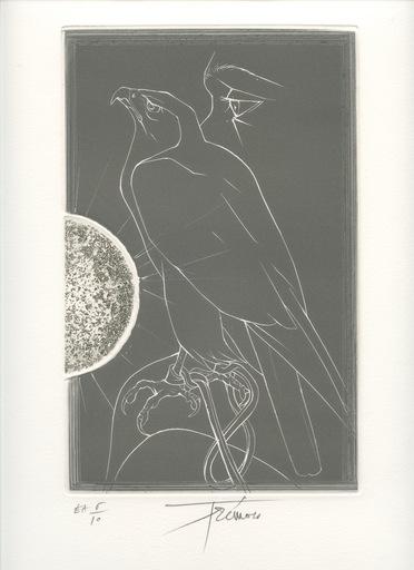 Pierre-Yves TRÉMOIS - Print-Multiple - GRAVURE SIGNÉE CRAYON NUM/10 HANDSIGNED NUMB ETCHING FAUCON