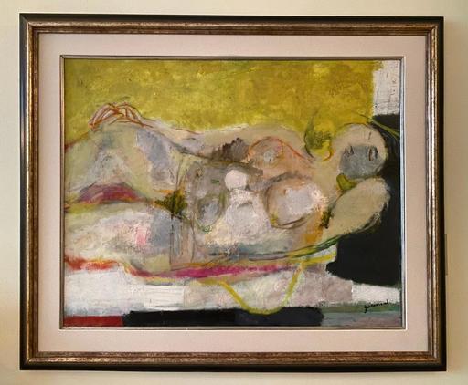 Paul GUIRAMAND - Gemälde - La Modele