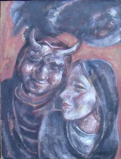 Alfonso SUCASAS GUERRA - Pittura - ANTROIDO