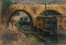 古斯塔夫·罗瓦索 - 绘画 - Pont Marie, Paris