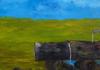 Kyna DE SCHOUEL - Peinture - L'abreuvoir