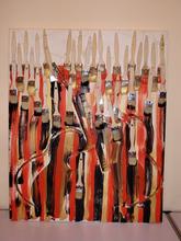 Fernandez ARMAN (1928-2005) - Collage de Brosses